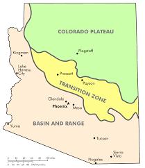 Map Of Prescott Arizona by File Physiographic Regions Of Arizona Svg Wikimedia Commons