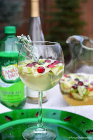 christmas cocktails recipes holiday white wine sangria picture the recipe