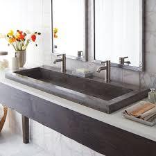 trough sink two faucets double trough sink wayfair