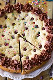 check out chocolate chip cookie cake it u0027s so easy to make