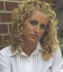 spiral perm hairstyle