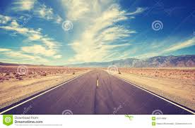 vintage style country highway in usa stock photo image 60514898