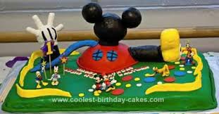 mickey mouse clubhouse birthday cake coolest mickey mouse clubhouse 1st birthday cake