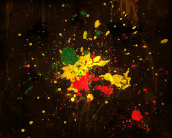 Paint Splatter Wallpaper by Rasta Splatter Wallpaper By Fourthy On Deviantart