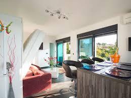 Wohnzimmerm El Luxus Design Beach Resort Fewo Direkt