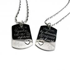 his and hers dog tags personalized his and hers dog tag set personalized gifts for