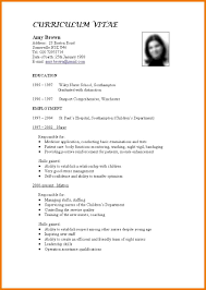 standard resume template 15 get the resume template uxhandy com