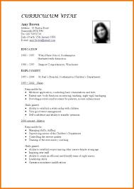 standard resume template 22 standard resume format we provide as