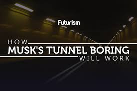 tunnel elon musk just released the first ever video of his boring tunnel
