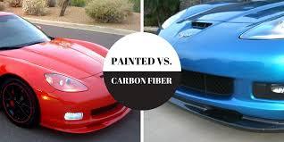 carbon fiber corvette parts corvette style carbon fiber vs painted parts rpi designs llc