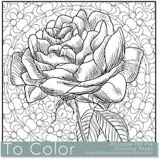 flower coloring pages cool coloring pages adults pdf