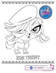 littlest pet shop coloring pages color free laura