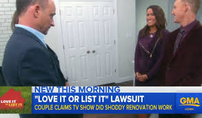 does it or list it leave the furniture it or list it lawsuit calls renovations disastrous