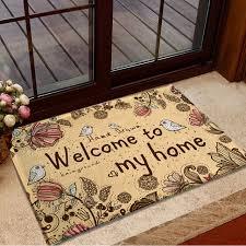 tapis cuisine suede mat door floor 40x60cm living room bedroom hallway