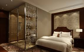 Glass Bed Wall Bedroom Sets Master Bedroom With Bathroom Glass Partition Jpg 1 160 719 Pixels