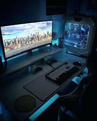 l shaped desk gaming setup pc desk setup u computer my pc desk setup amicicafe co