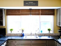 Elegant Window Treatments by Bathroom Pleasing Stylish Kitchen Window Treatment Ideas Design