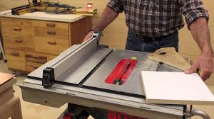 miter cuts on table saw miter saw table saw accuracy check youtube