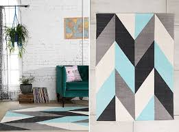 Modern Rug Designs Interior Designs Split Chevron Rug Design Ideas At Industrial