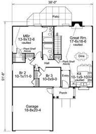 Design Home Plans 16x20 House 16x20h3 569 Sq Ft Excellent Floor Plans
