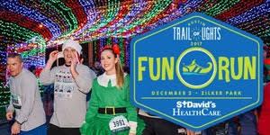 Trail Of Lights Austin Texas 2017 Austin Trail Of Lights Fun Run Registration Sat Dec 2 2017