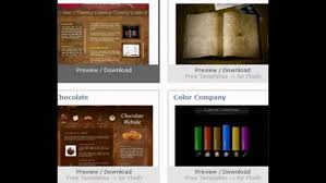 flash website template free 10 flash web templates free download websites youtube