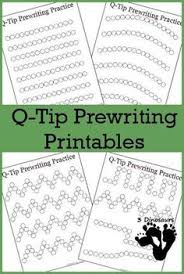 free handwriting worksheets for preschool letters of all sizes