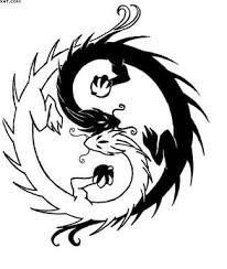 Ying Yang Tattoo Ideas Chinese Dragon With Ying Yang Tattoo Design Tattoobite Com