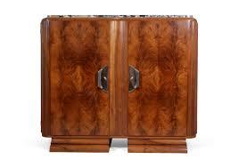 Walnut Sideboard Deco Walnut Sideboard By Guerin Paris C1920