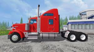 2015 kenworth truck w900 for farming simulator 2015
