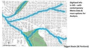 Portland Neighborhood Map Poster by Ecological Inspirations U2013 Hidden Hydrology