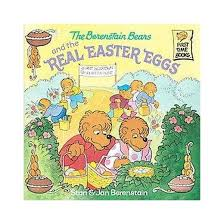 the berenstain bears and the real easter egg time books