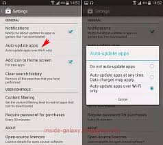 android disable auto update how to stop auto updating android apps on a samsung note 4 quora