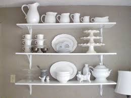 kitchen shelf decorating ideas 12th and white kitchen shelves