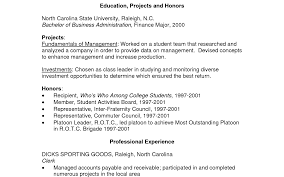 Recent Graduate Cover Letter Sample example of recent graduate