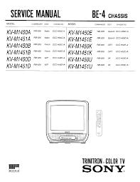 sony kvm1451d service manual immediate download