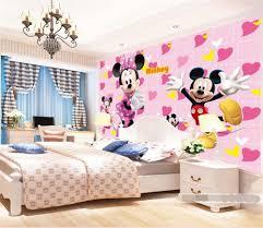 3d room wallpaper custom hd photo murals mickey mouse card