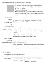 blank resume to fill out lukex co