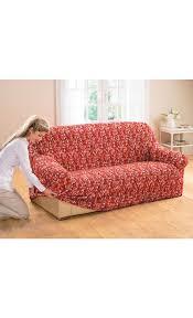 couverture canapé rehousser un canap fabulous la housse imprime pour fauteuil ou