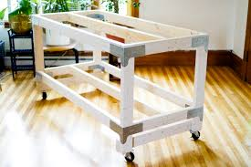 How To Make A Sewing Table by Cutting Table Diy Closet Case Patterns