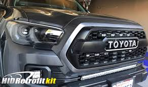 toyota custom 16 18 toyota tacoma custom led projector bi xenon headlights