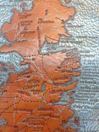 leather map tooled leather map of westeros by finn hansen of the leather shop