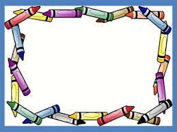 crayon border frame free ppt backgrounds for your powerpoint templates