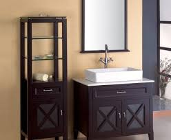 Bathroom Vanity With Side Cabinet Contemporary Bathroom Vanity With Side Cabinet Throughout Shop