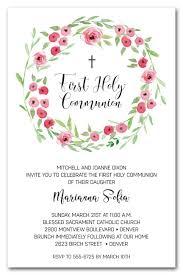 holy communion invitations communion invitations for girl holy communion invitations