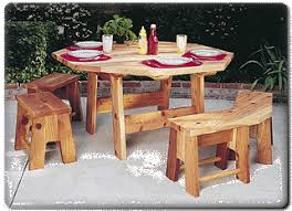 Woodworking Plans For Octagon Picnic Table by Picnic Table Wood Plans