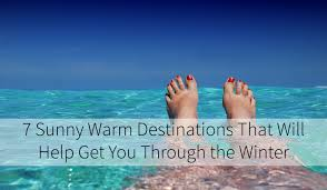 7 warm destinations that will help get you through the