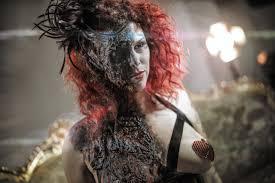 halloween makeup blood burlesque burn halloween makeup tutorial by ellimacs