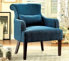 Teal Accent Chair Teal Fabric Accent Chair Caravana Furniture