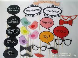 Props For Photo Booth Wedding Photo Booth Prop Kit Photobooth Props Mustache On A Stick
